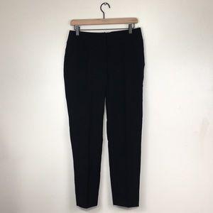XOXO Black Elastic Waist Ankle Trousers